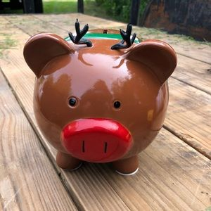 Target reindeer piggy bank